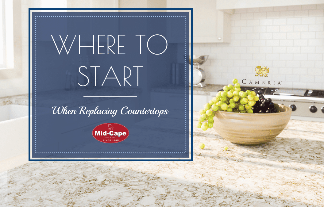 Where to Start: Kitchen & Bathroom Countertops